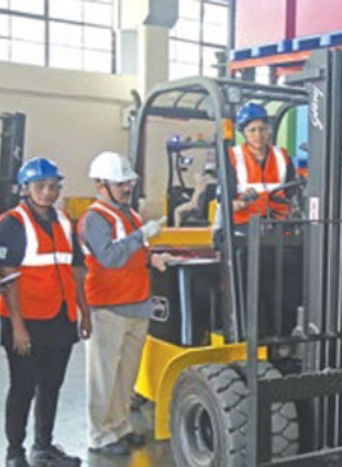 Godrej readies women forklift drivers 1st batch