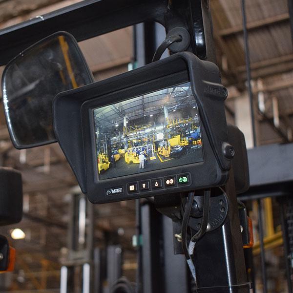 Godrej RenTRUST Forklift with Camera