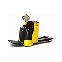 Battery operated pallet truck on rent