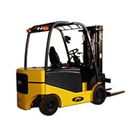 Battery operated forklift on rent