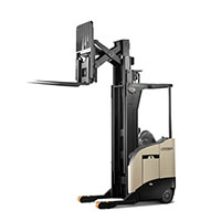 Crown Reach Truck on rent with skilled operator