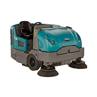 Industrial sweeper on rent